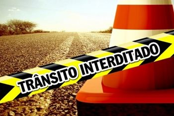 transito interrompido